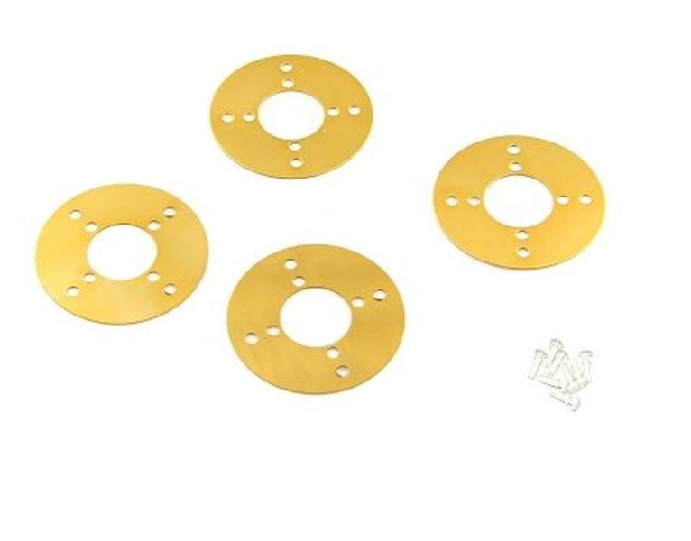 Timing Pulley Slice 90T (4-Pack) [Yellow]